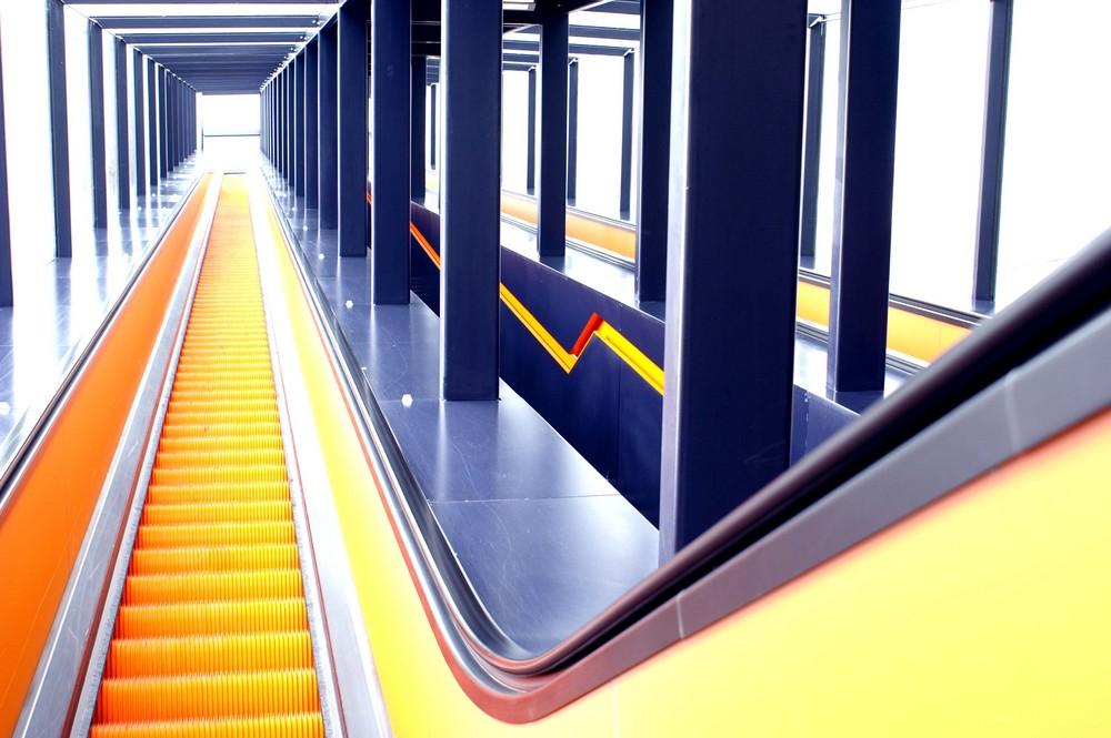 Zeche Zollverein Rolltreppe zwei