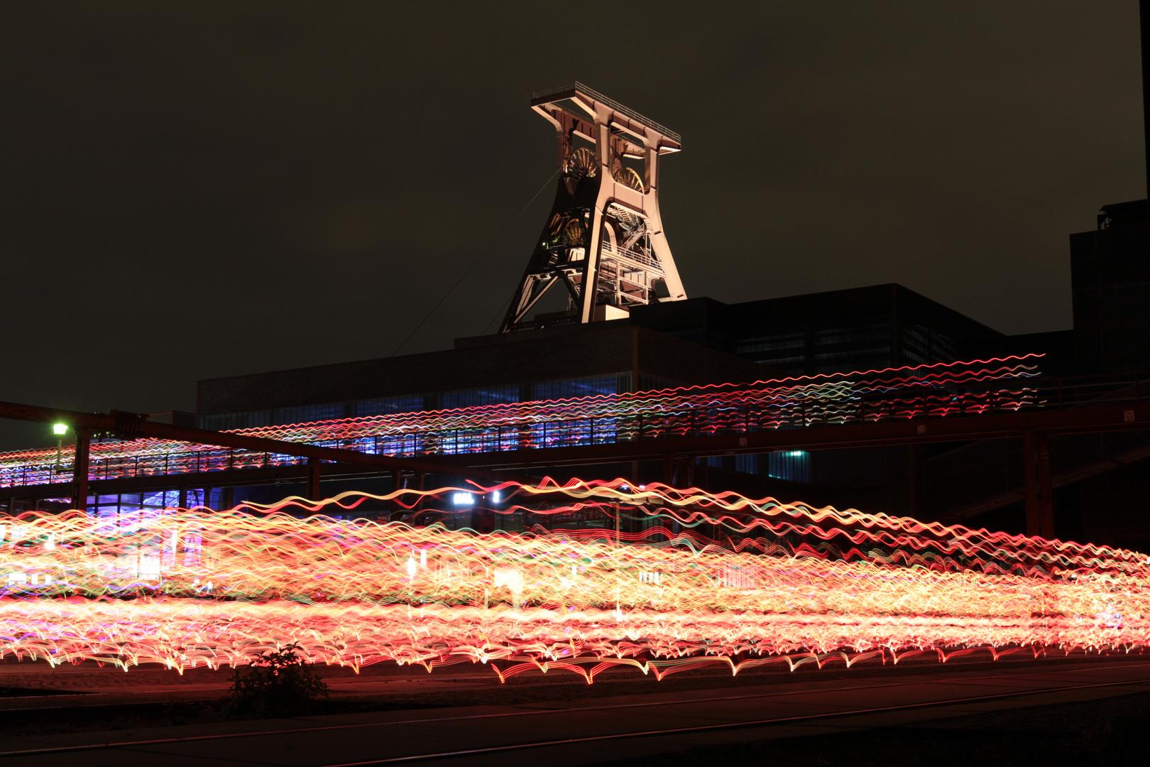 Zeche Zollverein - speed of light/light of speed event