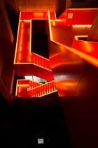 ~ Zeche Zollverein - Treppen-Eingang Ruhrmuseum ~