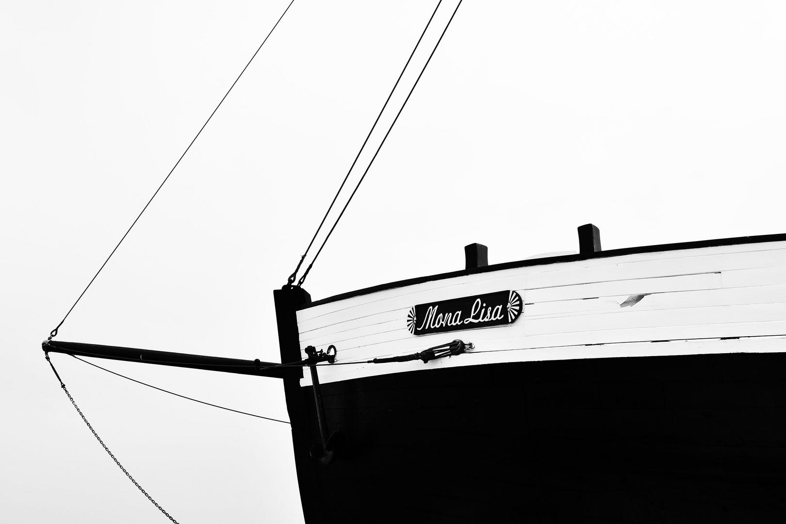 Zeesenboot Mona Lisa
