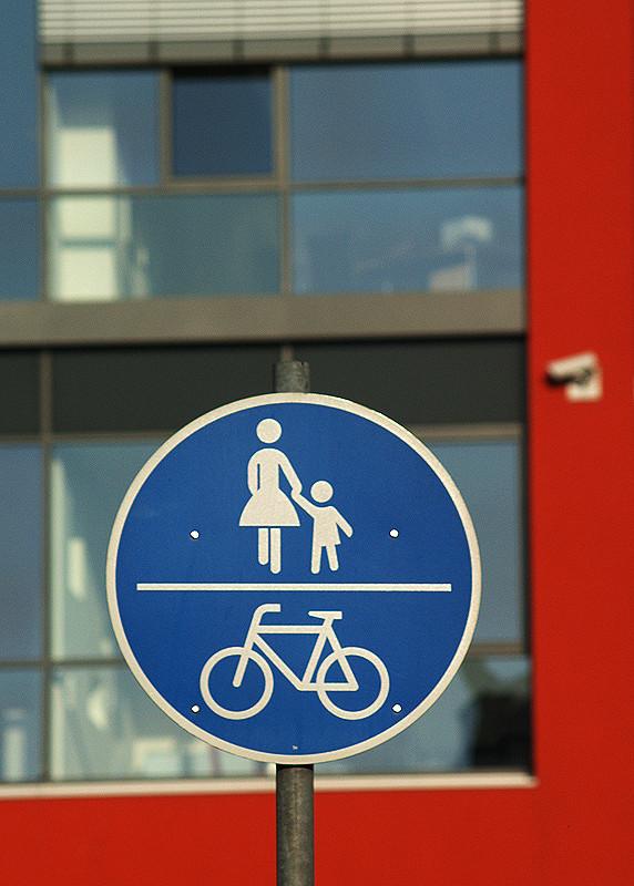 Zeichen 240 - gemeinsamer Fuß- und Radweg