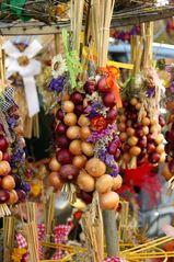 Zeit der Zwiebelmärkte in Thüringen