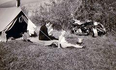 Zeit - Doku 1955: Camping brutal mit NSU 500 ...