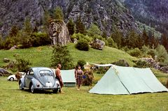Zeit - Doku 1960: Camping mit Käfer und Wellensittich