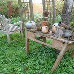 Zeit für die Gartenarbeit
