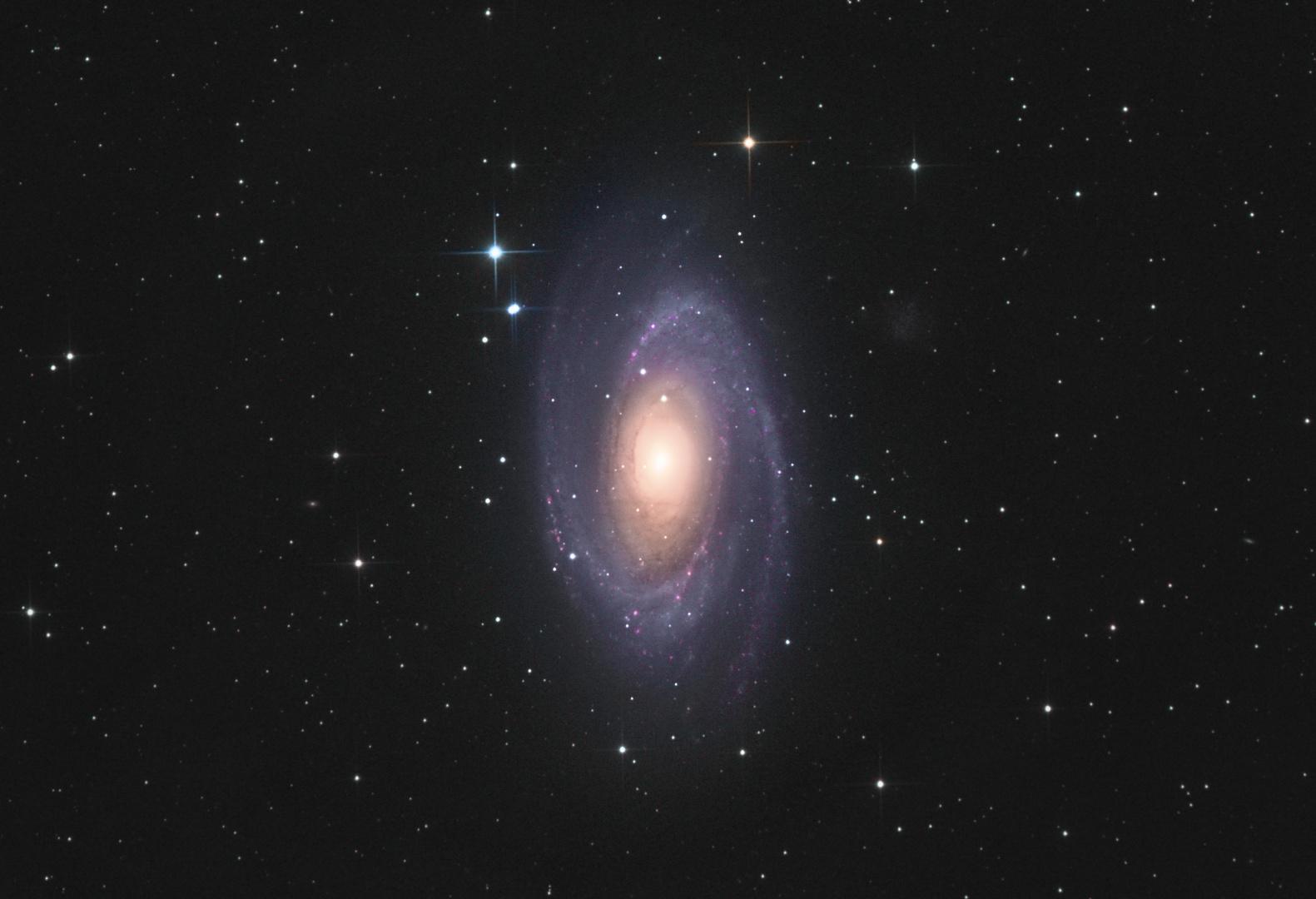 Zeit für Galaxien:M81 im Großen Bär