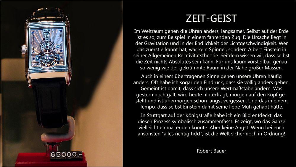 ZEIT-GEIST