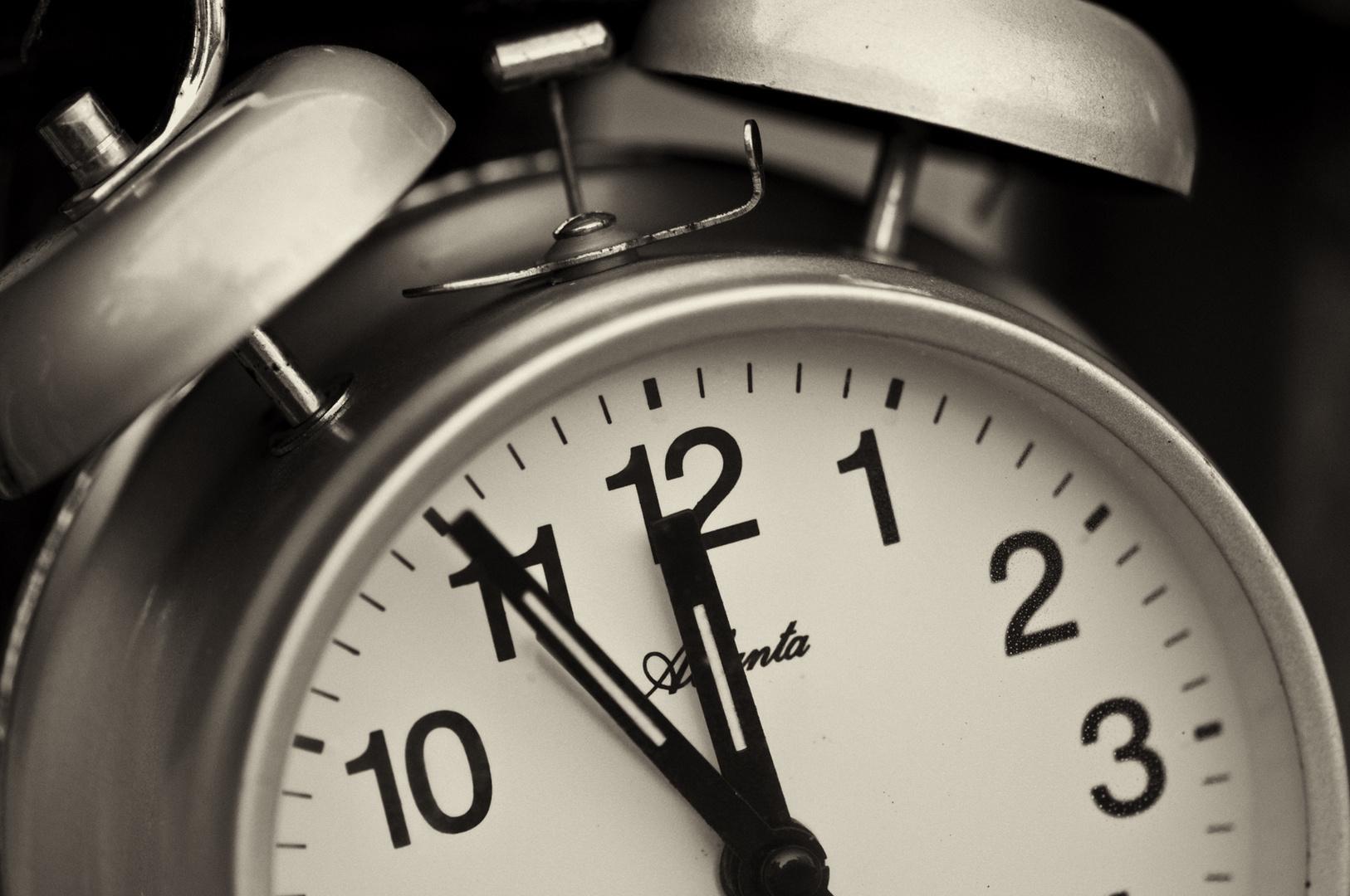 Zeit ist Luxus