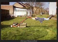 Zeit zum Rasenmähen
