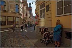 Zeitbild in Riga