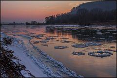 Zeiten waren ´s... - Panneköken auf der Weser...