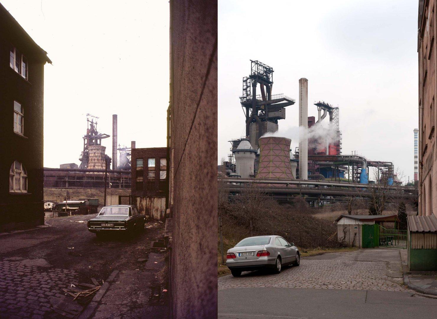 Zeitreise - Duisburg Beeck, Hubertusstr. 1979 & 2012