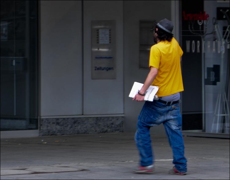 Zeitungsboy