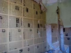 Zeitungswand -- Wandzeitung