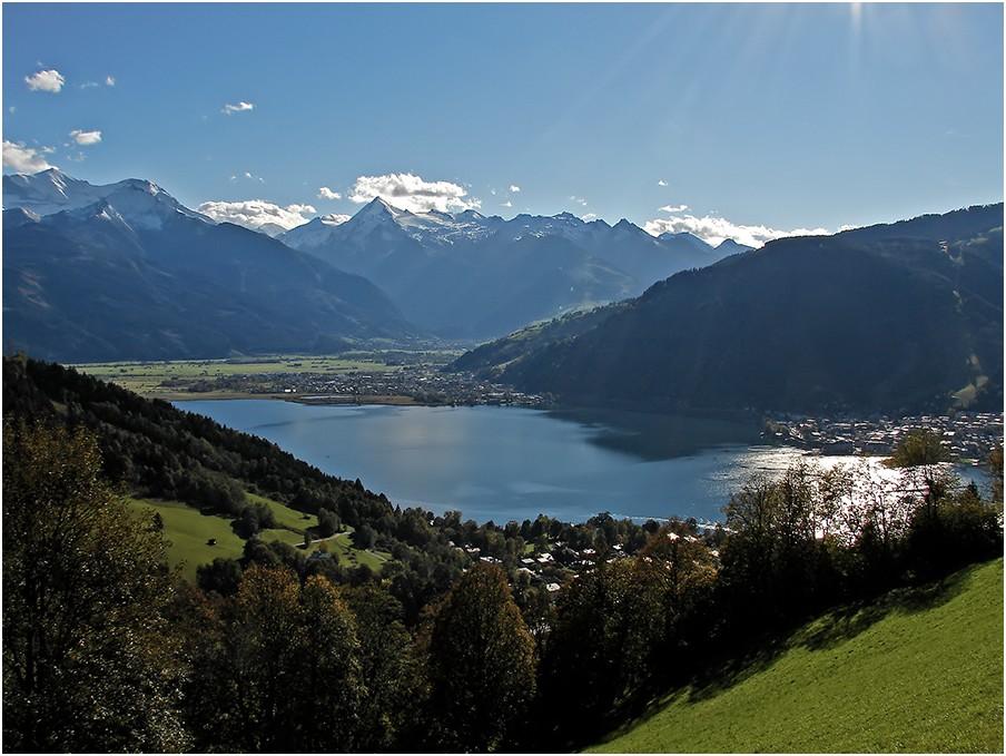 Zeller See mit Kitzsteinhorn