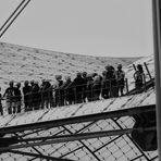 Zeltdach Überquerung...