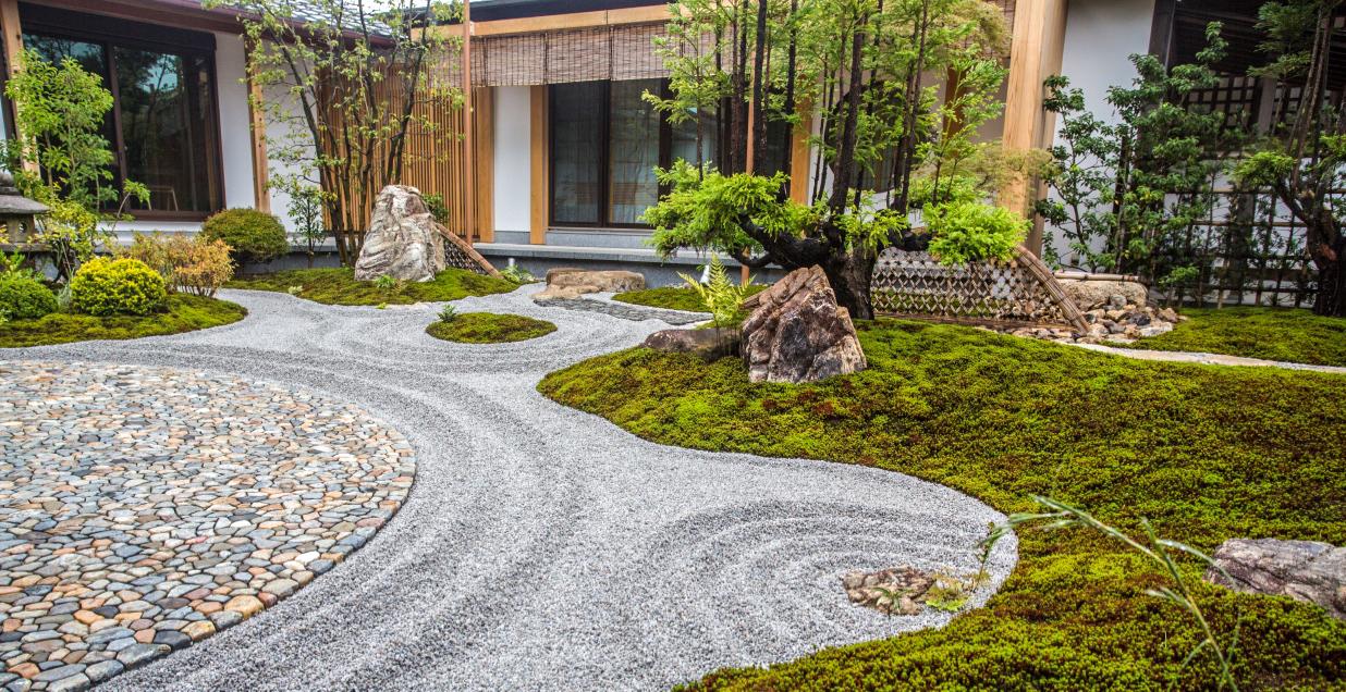 zen garten foto bild japan world bilder auf fotocommunity. Black Bedroom Furniture Sets. Home Design Ideas