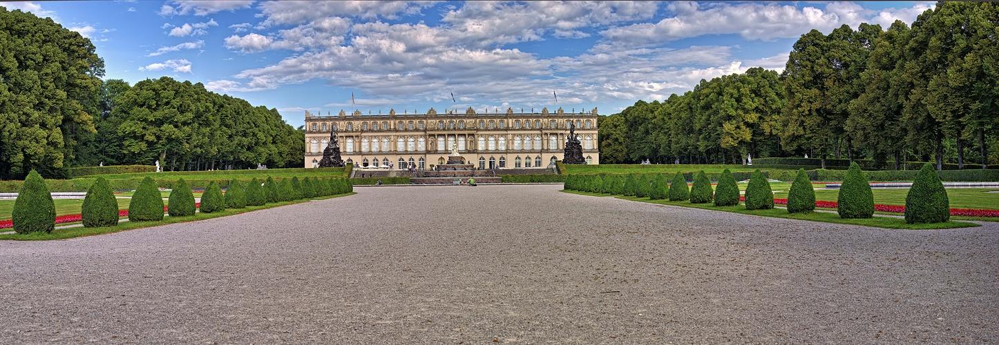 Zentralachse Schloss Herrenchiemsee