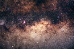 Zentrum der Milchstraße im Schützen