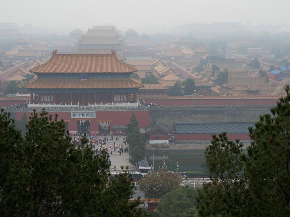 Zentrum von Peking