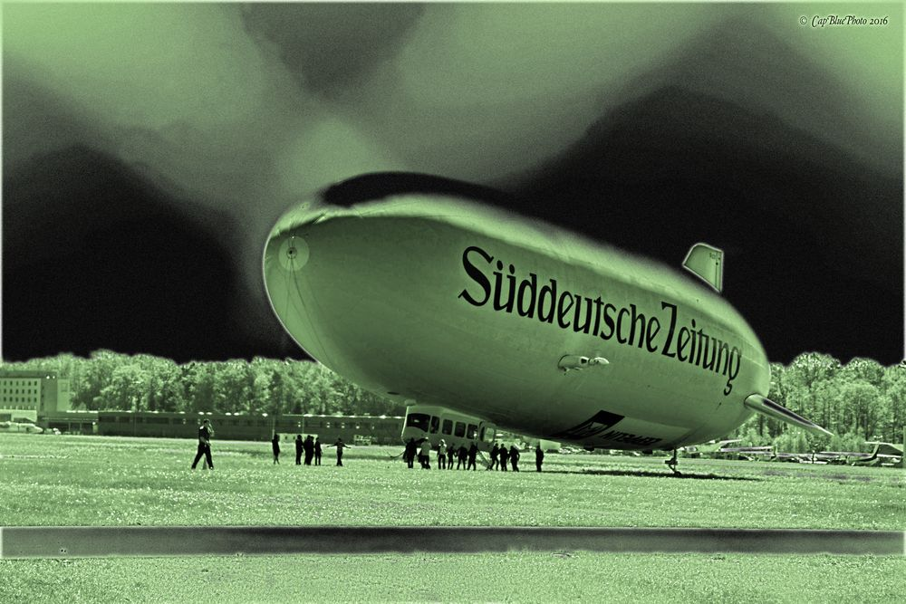 Zeppelin NT Süddeutsche Zeitung