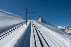 Zermatt-Gornergratbahn-Fahrt mit dem Lokführer im Führerstand