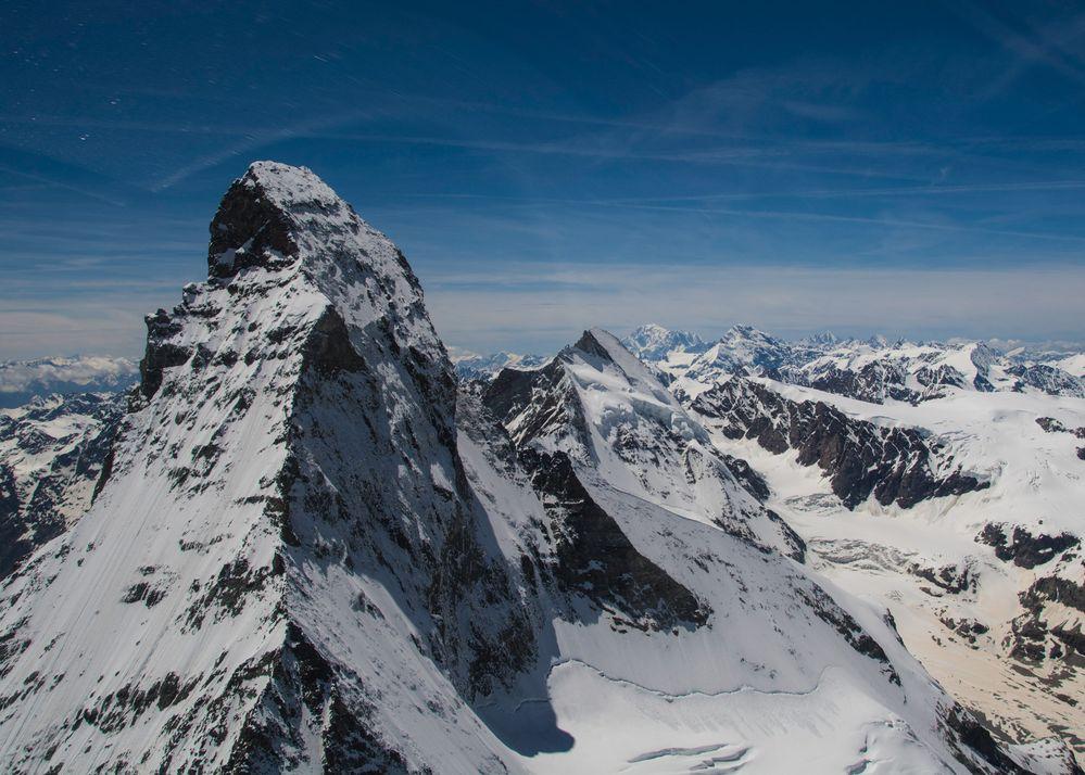 Zermatt Matterhorn von oben