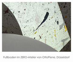 ZERO-Atelier Düsseldorf, Fußboden, Otto Piene
