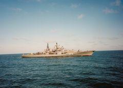 Zerstörer auf der Ostsee