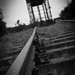 Zerstörte Hubbrücke Karnin