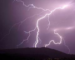 Zeus - Blitze (Wolke - Erde Entladung)