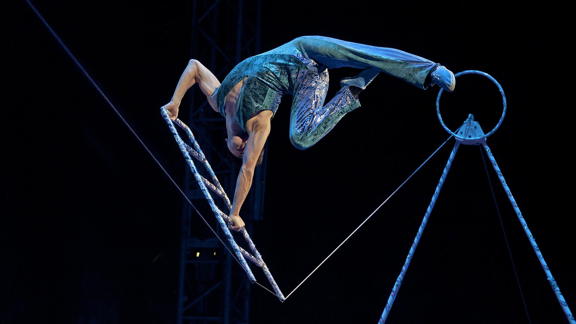 ZHANG FAN - Meister auf dem Seil