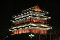 Zhengyangmen bei Nacht