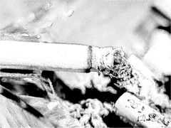 Ziegarette in Bleistift