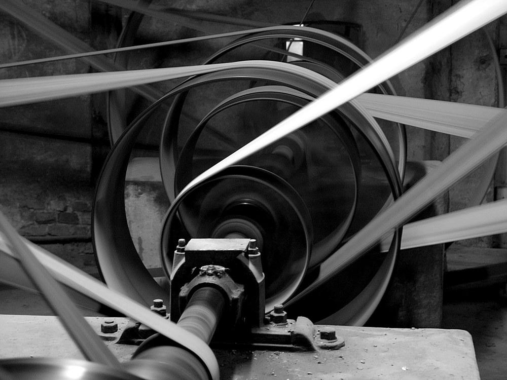 Ziegelei Benzin Transmission