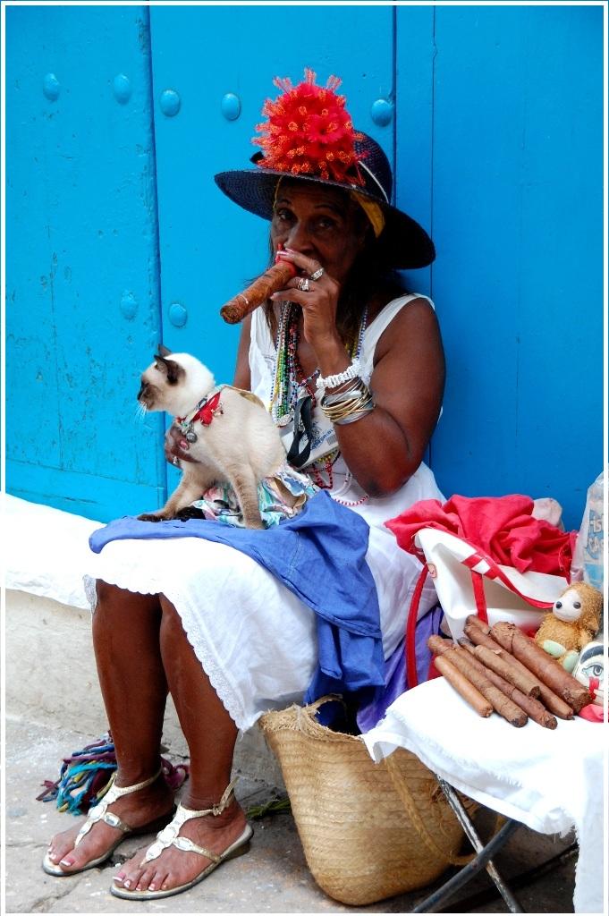 Zigarre gefällig oder ein Foto für einen CUC
