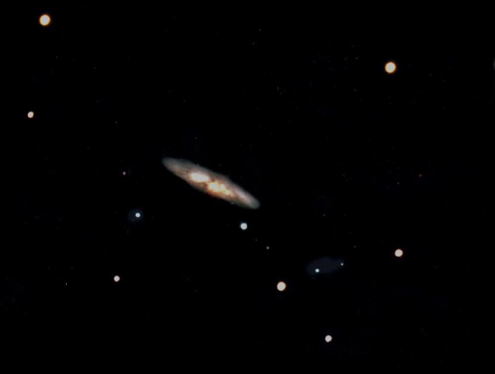 """Zigarren - Galaxie"""" - M 82 - Ursa Major II"""