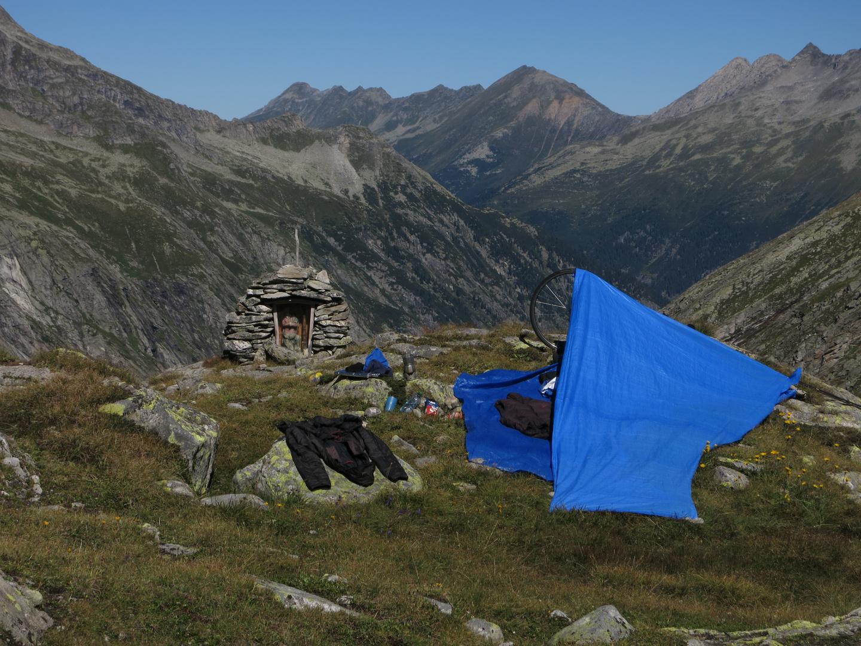 Zillertal - Ahrntal Petrusbildl unterhalb Hundskehljoch