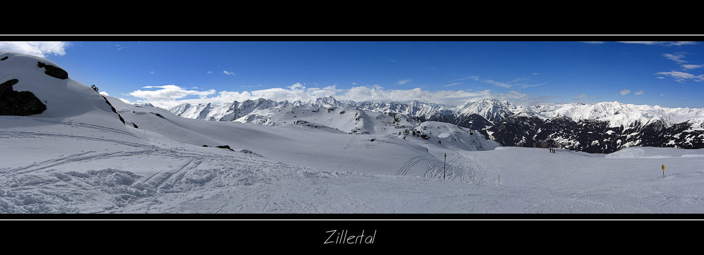 Zillertal im April