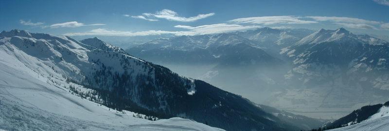 Zillertal und Alpenhauptkamm