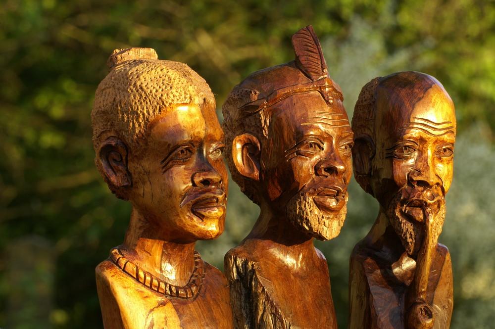 Zimbabwe - Holzschnitzkunst 5