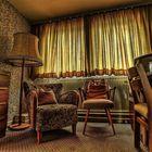 Zimmer in einem alten Hotel