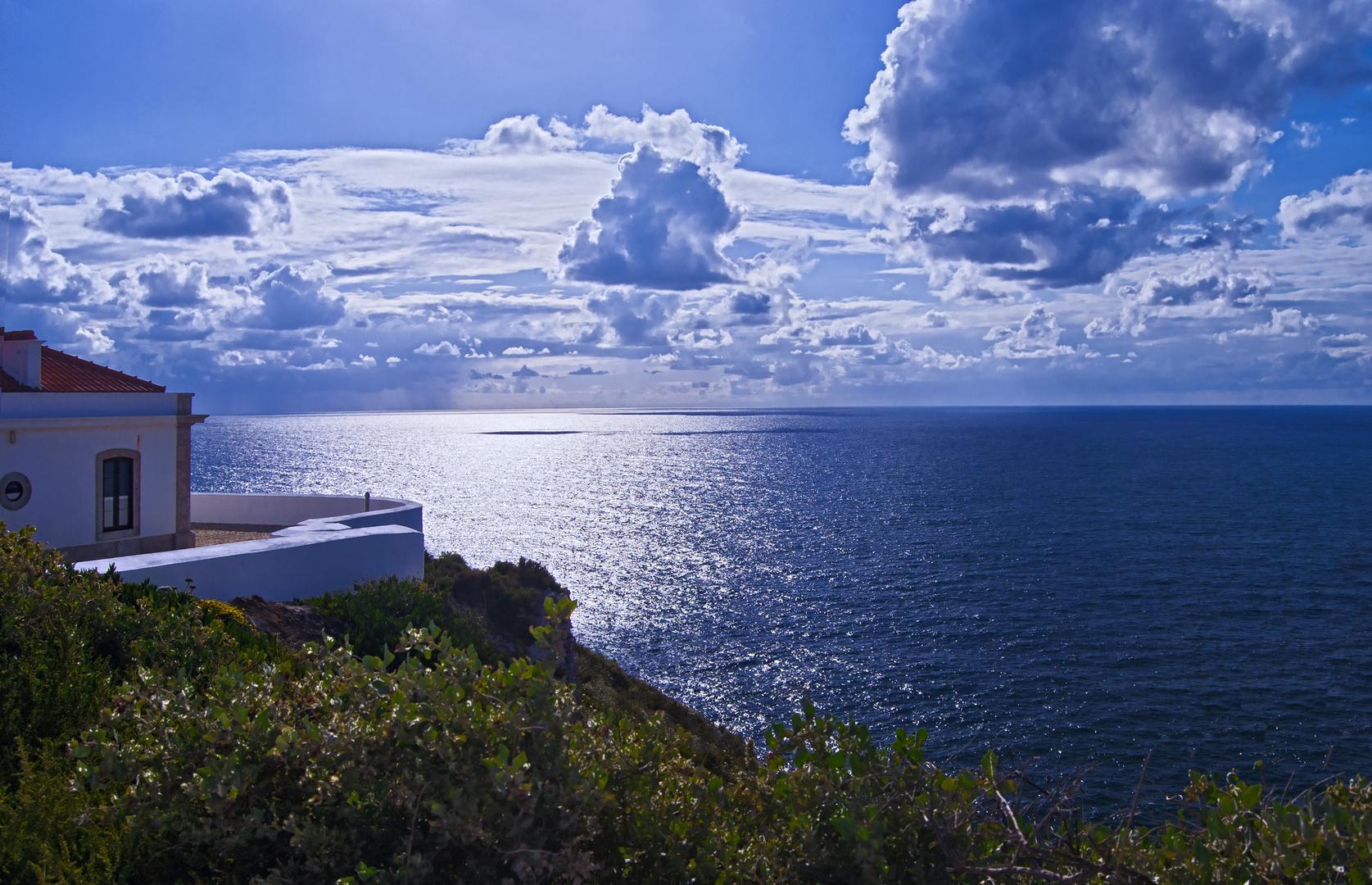 Zimmer mit Meerblick ; Cabo de Sao Vincente, Algarve Portugal Foto ...