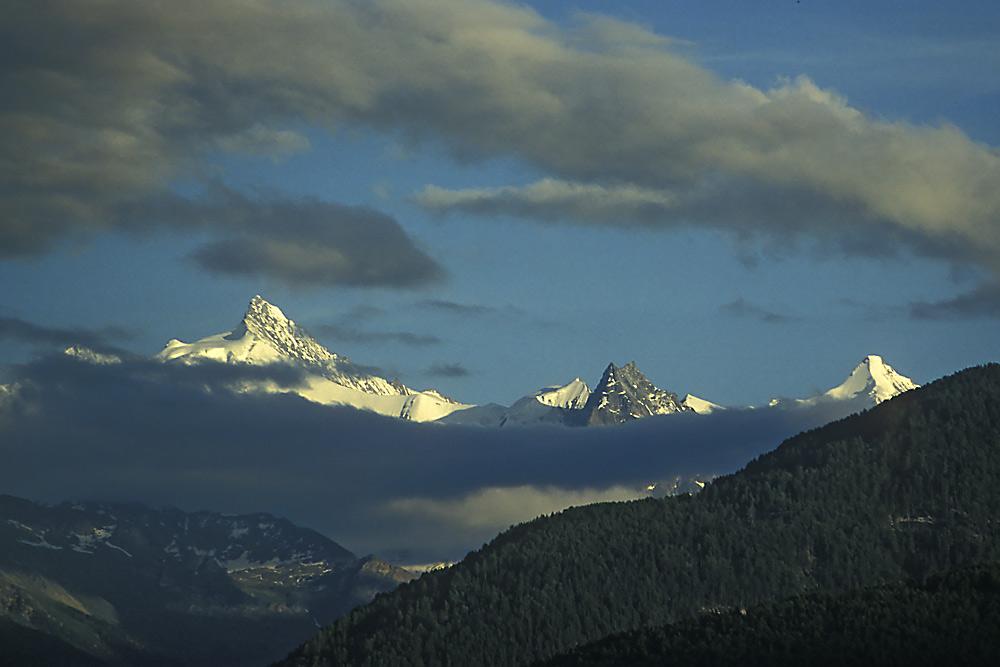 Zinalrothorn - Teufel Bresso - Ober Gabelhorn
