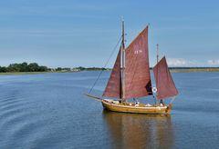 Zingst  - Ausflug mit einem Zeesenboot