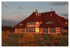 Zingst - Kurhaus in der Abendsonne