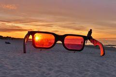 Zingst - Mit der Sonnenbrille am Strand
