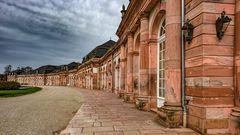 Zirkelbau im Schlossgarten Schwetzingen