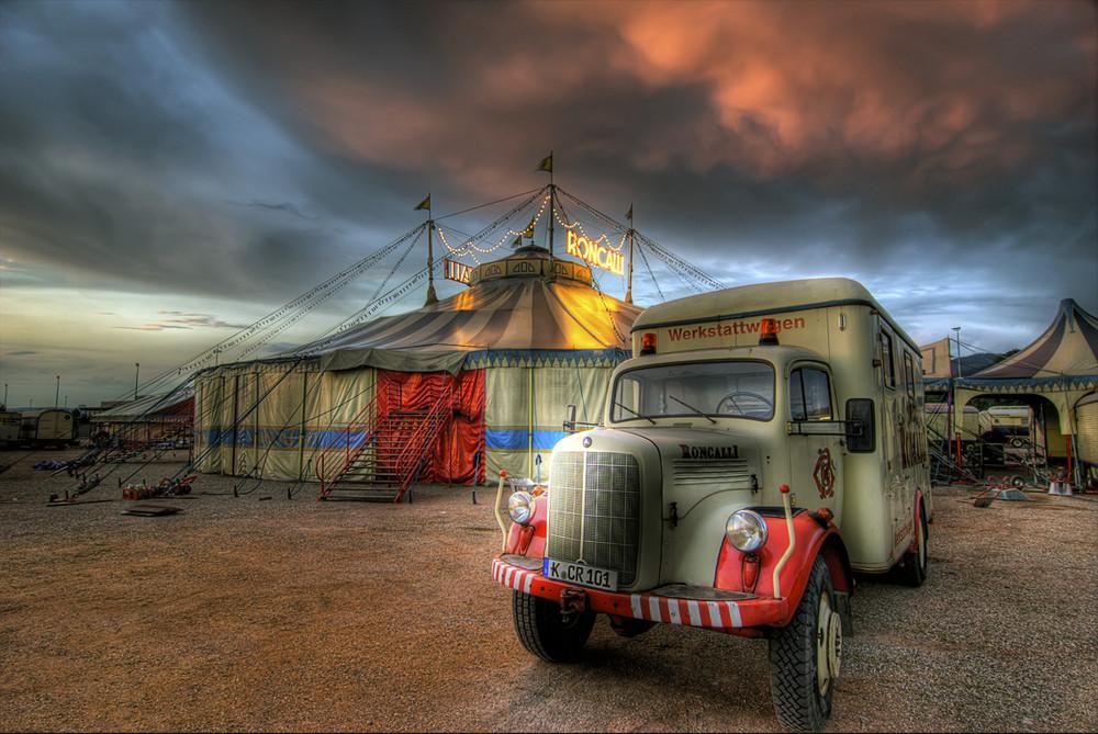 Zirkus Roncalli in Freiburg