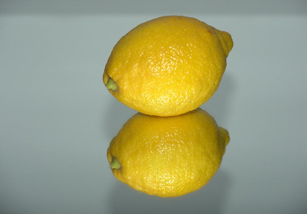 Zitrone-im-Spiegel